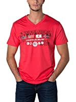 Geographical Norway Camiseta Manga Corta Snht (Rojo)