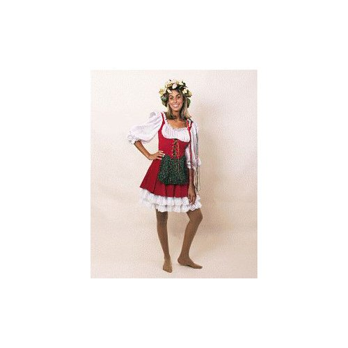 Miss Santa Claus (Bavarian) Dress Costume Size 2-8 Small/Medium (S/M)