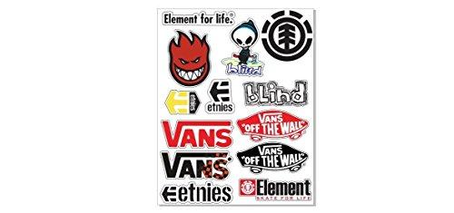 1-feuille-13-skater-skateboard-sticker-autocollant-planche-de-surf-et-snowboard-element-vans-blind-e