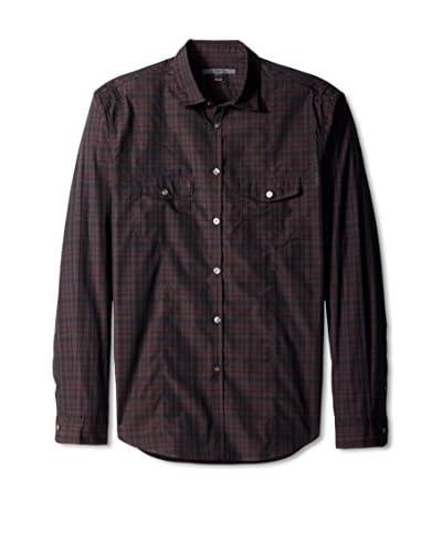 John Varvatos Collection Men's Military Shirt