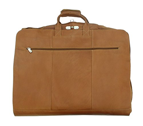 Piel Leather Traveler Garment Cover in Saddle