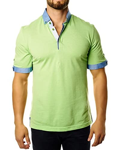 Maceoo Men's Short Sleeve Polo