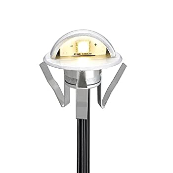 Pack of 10 Low Voltage LED Deck Light Kit Φ1.38