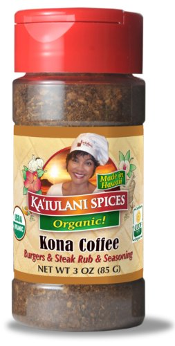 Kona Coffee Rub and Seasoning