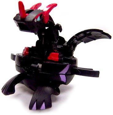 Bakugan B2 Vestroia Single LOOSE Figure Darkus Black (Volta)