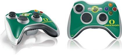 Skinit University of Oregon Vinyl Skin for 1 Microsoft Xbox 360 Wireless Controller