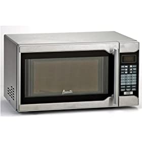 700-Watt Counter Top Microwave Oven With Stainless Steel Finish