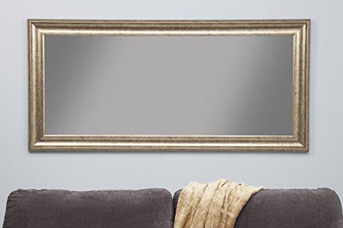 Sandberg Furniture 14111 Full Length Leaner Mirror Frame, Antique Gold 3