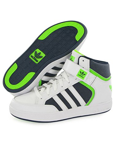 adidas Bambino Varial Mid J Scarpe da skate bianco Size: 35