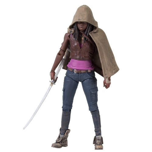 Toy Zany Figurina Action Walking Dead Tv Series 3 Michonne
