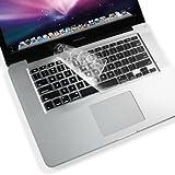 GMYLE(TM) MacBook Air/Pro/Retina クリア TPU 防塵 USキーボードカバー