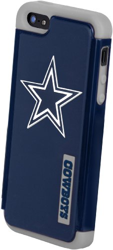 Special Sale Forever Collectibles Dallas Cowboys Rugged Dual Hybrid Apple iPhone 5 & 5S Case