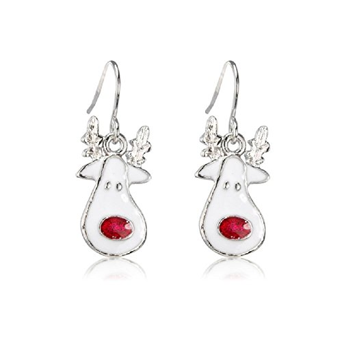 Christmas Costume Jewellery - Red Nose Reindeer