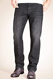 Autograph Slim Fit Washed Denim Jeans [T17-2974A-S]