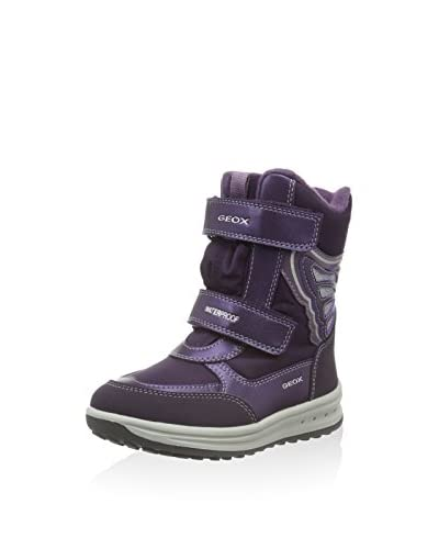 Geox Botas de invierno J Roby Girl B Wpf B Gris Oscuro