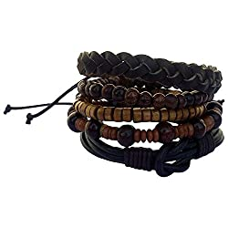 ITOS365 Bracelet Bands for Men Fashion Accessories Handmade Wristband Jewellery