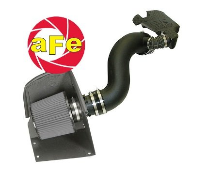 aFe Stage 2 Cold Air Intake Pro-Dry S GMC Sierra 2500 HD 6.6L V8 01-04