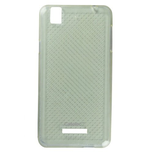 Casotec Soft Dotted TPU Back Case Cover for Micromax YU Yureka AQ5510 - Clear  available at amazon for Rs.125