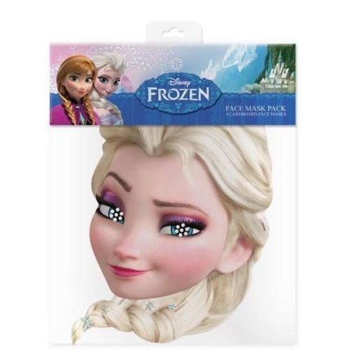 Disney Frozen Elsa Party Face Mask - 1