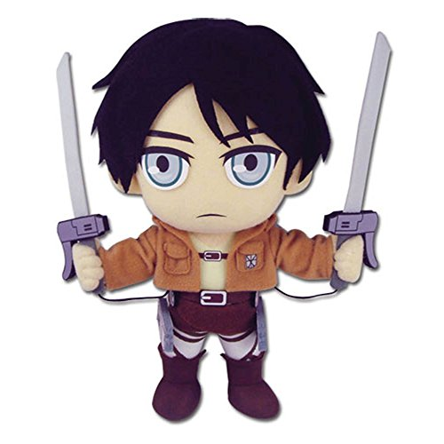 Great Eastern Attack on Titan 9.5″ Eren Yeager Plush image