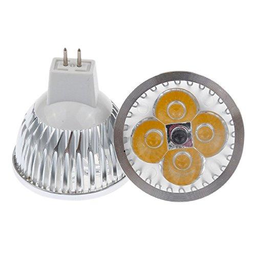 Cozyswan®Brand New Energy Saving Warm White 12V 4W Mr16 Gu5.3 Led Spotlight Bulb 35W Incandescent Equivalent