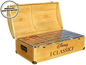 Forziere In Legno Con 52 Dvd Classici Disney (Ltd)