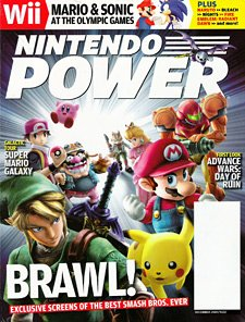 Nintendo Power #222 Super Smash Bros. Brawl - Dec 2007 PDF