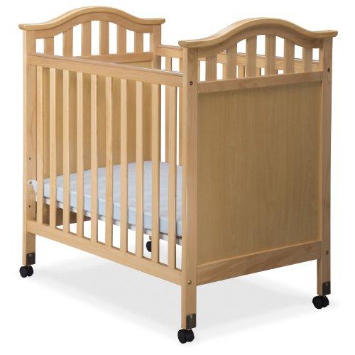 Delta Children Bella Cozy Crib with Mattress, Natural