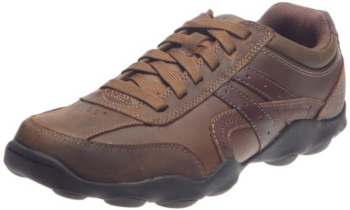 Skechers Men's Opus Paxton Dark Brown Lace Up 62871 10 UK