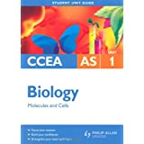 CCEA AS Biology: Unit 1: Molecules and Cells (Student Unit Guides)by John Campton