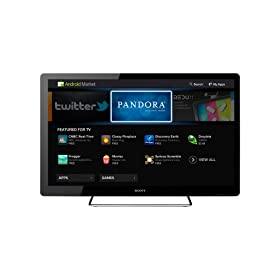 Sony NSX-32GT1 32-Inch 1080p 60 Hz LED HDTV Featuring Google TV