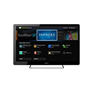 Sony NSX-40GT1 40-Inch 1080p 60 Hz LED HDTV Featuring Google TV, Black