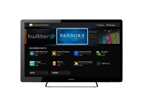 Sony NSX-24GT1 24-Inch 1080p 60 Hz LCD HDTV Featuring Google TV, Black