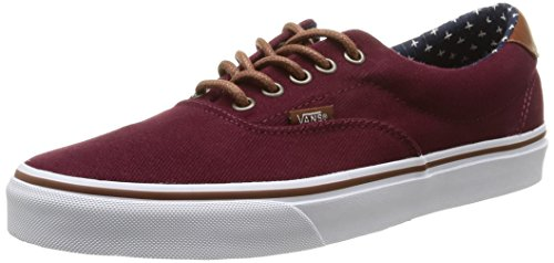 VANS ERA 59 VN-0ZMSH0M (D, M) T&L WINDSOR WINE/PLUS MEN WOMEN SHOES SNEAKERS (US MEN 9/WOMEN 10.5)