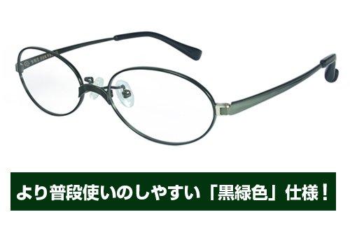 艦隊これくしょん -艦これ- 霧島メガネ 黒緑色仕様