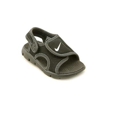 Nike Sunray Adjust 4 Infant Baby Boys Black Slingback