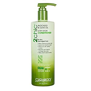 Giovanni 2chic Avocado and Olive Oil Ultra-Moist Conditioner, 24 Fluid Ounce