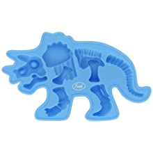 3B Scientific W64516T Fossil-Iced Silicone Ice Tray, Triceratops