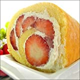 紅ほっぺ苺ロールケーキ(バレンタインギフト 贈答 プレゼント)