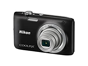 Nikon Coolpix S2800 Point and Shoot Digital Camera with 5x Optical Zoom (Black)