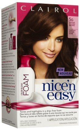 clairol-nice-n-easy-color-blend-foam-hair-color-5g-medium-golden-brown-quantity-of-2-by-unknown