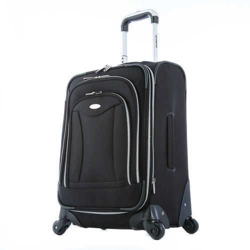 Olympia Luggage Luxe 21 Inch Expandable Carry-On