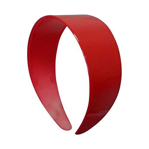 Red Plastic Headband