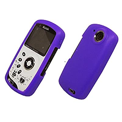 SPINC SP EMPIRE Purple Silicone Case for Kodak Playsport ZX3 Pocket Video Camera [Retail Packaging] at Sears.com