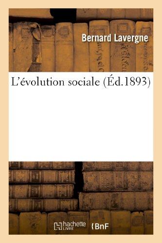 L'Evolution Sociale (Sciences sociales)