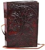 Generic Sacred Oak Tree Leather Blank Book