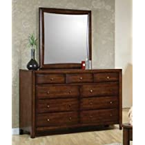 Hillary Dresser and Mirror by Coaster Furniture
