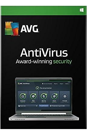 AVG AntiVirus - 3 User - 1 Year (PC)