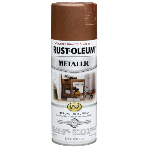 Rust oleum 248637 11 ounce metallic finish spray paint vintage copper spray paint antique Metallic spray paint colors