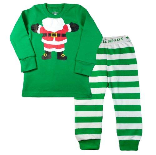 Babytree Christmas Long Sleeve Baby Sleepwear Pajama Set T3